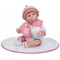 新しい17インチ42 cm Lifelike Realistic Cute Lovely Rebornベビー人形ソフトSiliconeビニール新生児赤ちゃんおもちゃクリスマスギフト子供の成長のパートナー