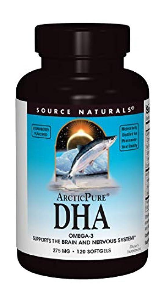 責任者パテの配列海外直送品 Source Naturals Arcticpure Dha, (strawberry) 120 Sftgls 250 mg