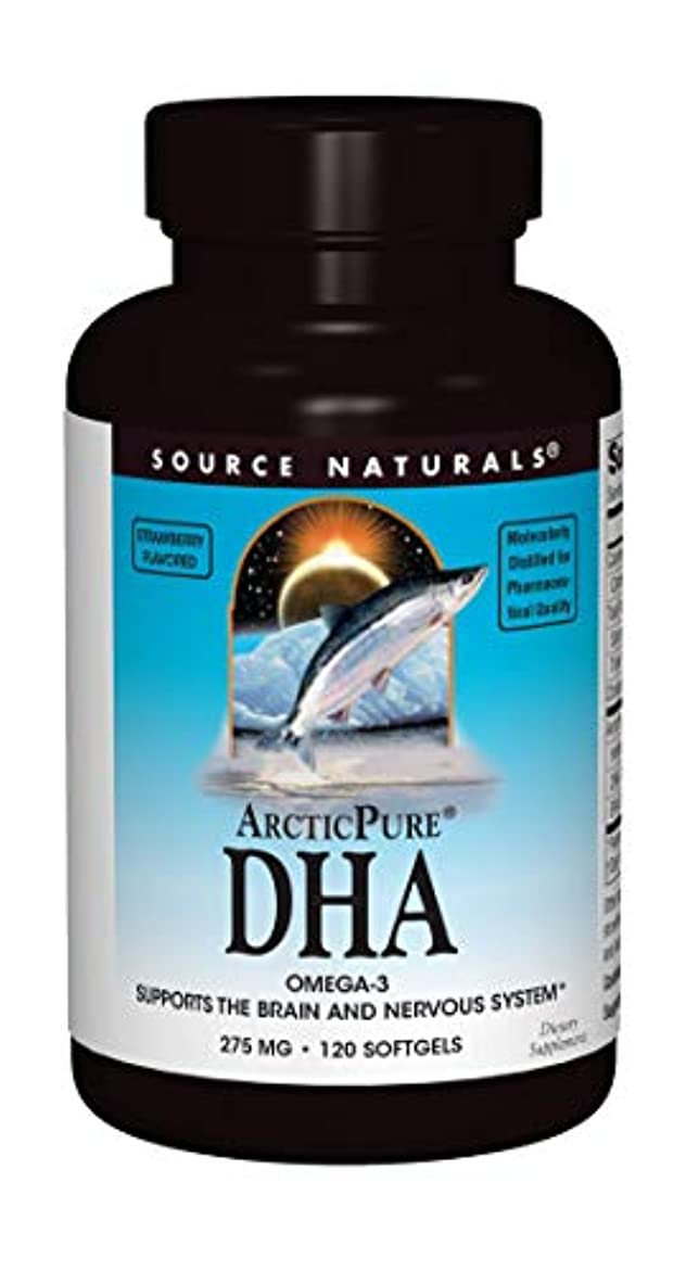 議論する嫌い対処海外直送品 Source Naturals Arcticpure Dha, (strawberry) 120 Sftgls 250 mg