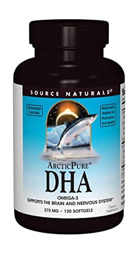 瞳人種猟犬海外直送品 Source Naturals Arcticpure Dha, (strawberry) 120 Sftgls 250 mg