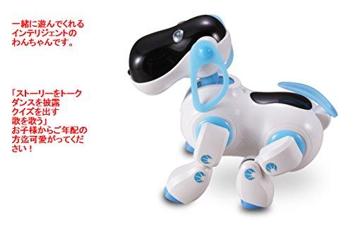 インテリジェントドッグ 犬型ロボット ボイス認識機能 歌も・ダンスも・クイズの会話もできる 座り・立ち・前進・後退はすべて音声で反応してくれます。(英語のみ) 対象年齢8歳以上