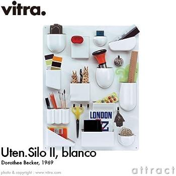 【正規取扱店】 vitra ヴィトラ Uten. Silo II ウーテン シロ 2 デザイン:Dorothee Becker カラー:3色 ABSプラスチック 小物入れ 壁面収納 ストレージ 壁掛け 収納 工具 家具 (ホワイト)