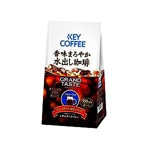キーコーヒー GRAND TASTE (グランドテイスト) 香味まろやか水出し珈琲 (35g×4P)×3個