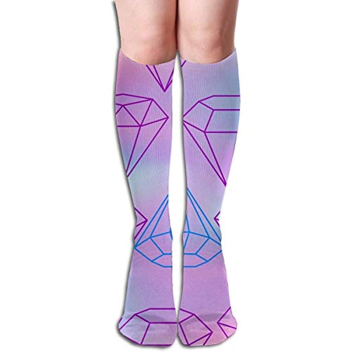 終わった砂利手qrriyクリスタルチューブストッキングレディース冬暖かい膝高靴下ブーツ靴下