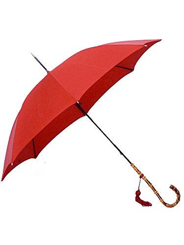 (フォックスアンブレラズ) FOX UMBRELLAS レディース 高級長傘 レッド WL4 WHANGHEE CANE CROOK HANDLE RED [並行輸入品]