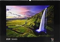 Islanda 2020 - Edizione Nera - Timokrates calendari da parete, calendari fotografici - DIN A3 (42 x 30 cm)