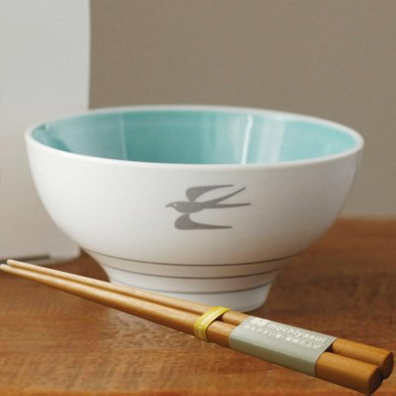 codomono project(コドモノプロジェクト) ノコサナイ茶碗&持ちやすい箸 ギフトセット ブルー