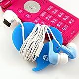 多摩電子工業 inG SOUND LAB 携帯電話用インナーステレオヘッドホンハート ブルー FOMA.SoftBank-3G S3005