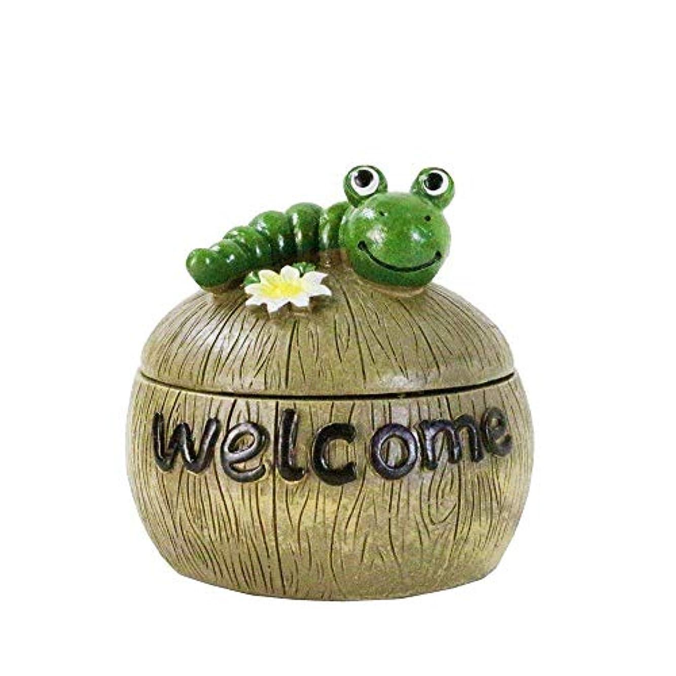 ルール委員会宇宙タバコの灰皿蓋の装飾と創造的なキャタピラーの灰皿