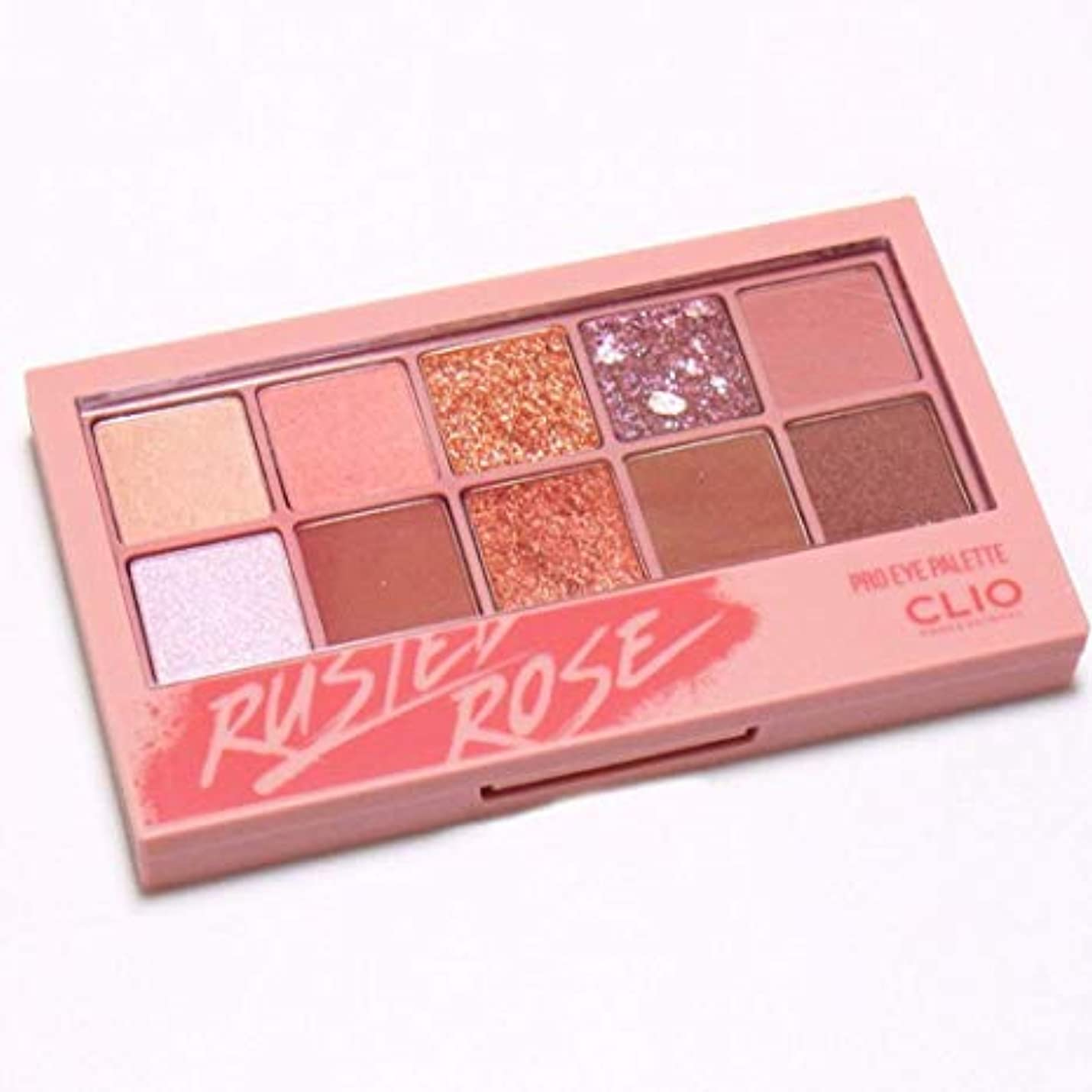 寄生虫従事した資料クリオ[CLIO] Pro Layering Eye Palette N05 さびたバラ (0.6gx10色) / Pro Layering Eye Palette N05 Rusted Rose
