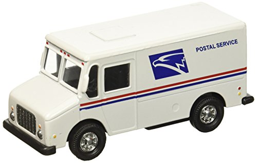 USPS United States Postal Service White Delivery Truck 1/43 Scale Mail Truck by Enigmatoys