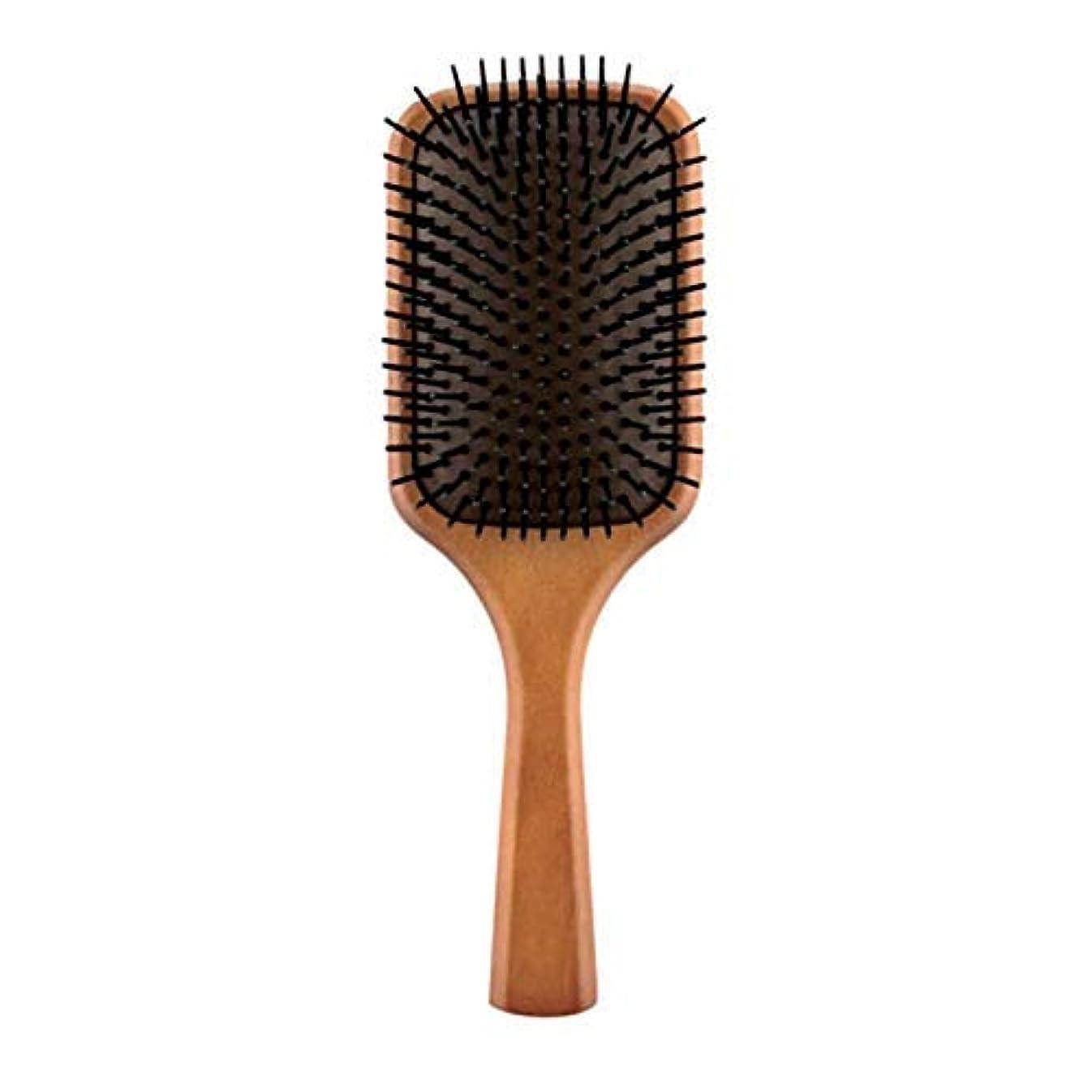 構造的隙間気分が良いヘアケア パドルブラシ 頭皮ケア InstagramなどのSNSで大人気