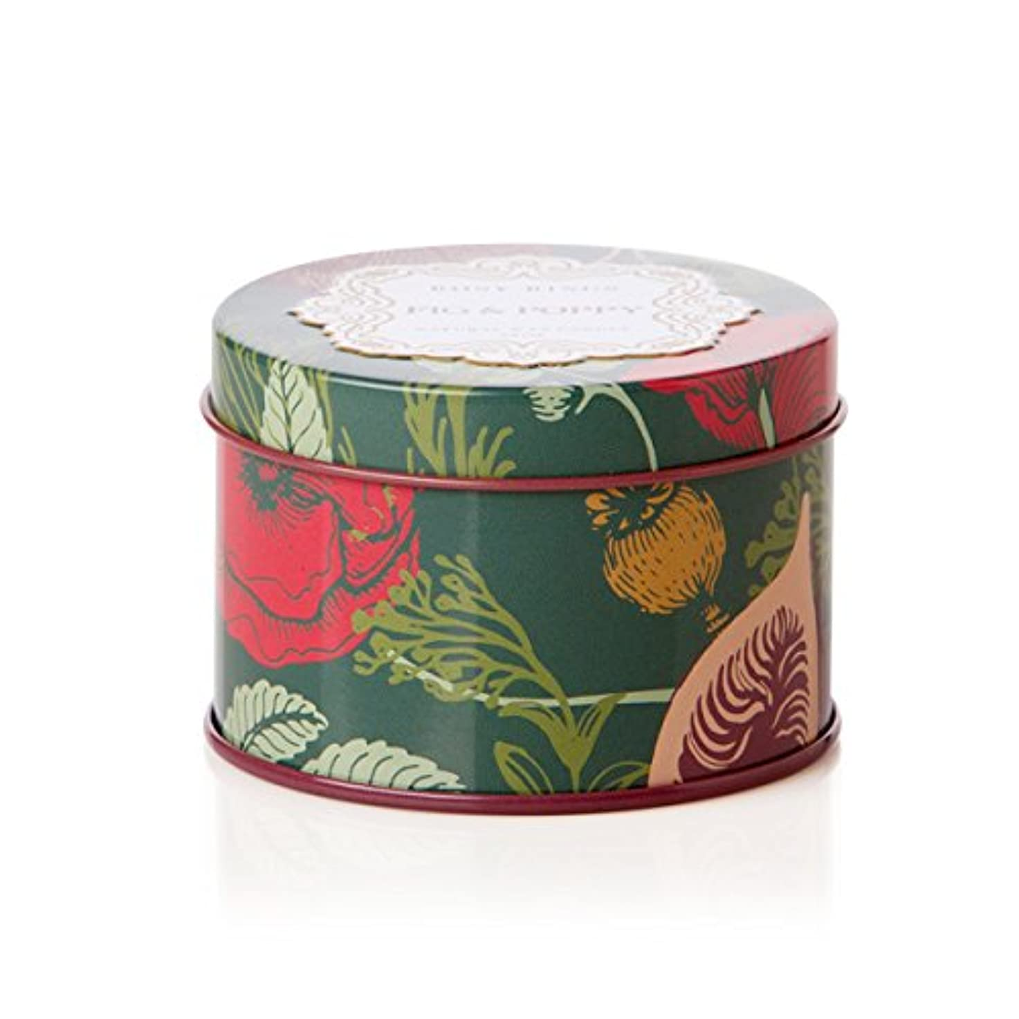 キャプションスリム刈るロージーリングス プティティンキャンドル フィグ&ポピー ROSY RINGS Petite Tin Fig & Poppy