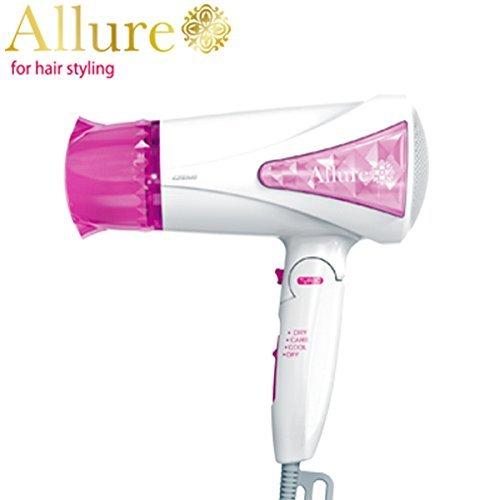 イズミ Allure マイナスイオンドライヤー DR-RM56 (P) ピンク
