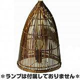 竹バスケット ランプシェード24cm 03-34