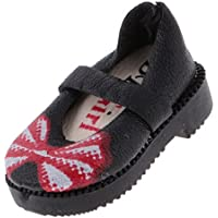 Baoblaze 12 インチ ブライスドール対応 人形 可愛い 靴 全3色選ぶ - 黒色