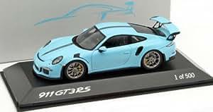 Spark スパーク 1/43 ポルシェ 911 (991) GT3 RS オリンピック ブルー 特注品