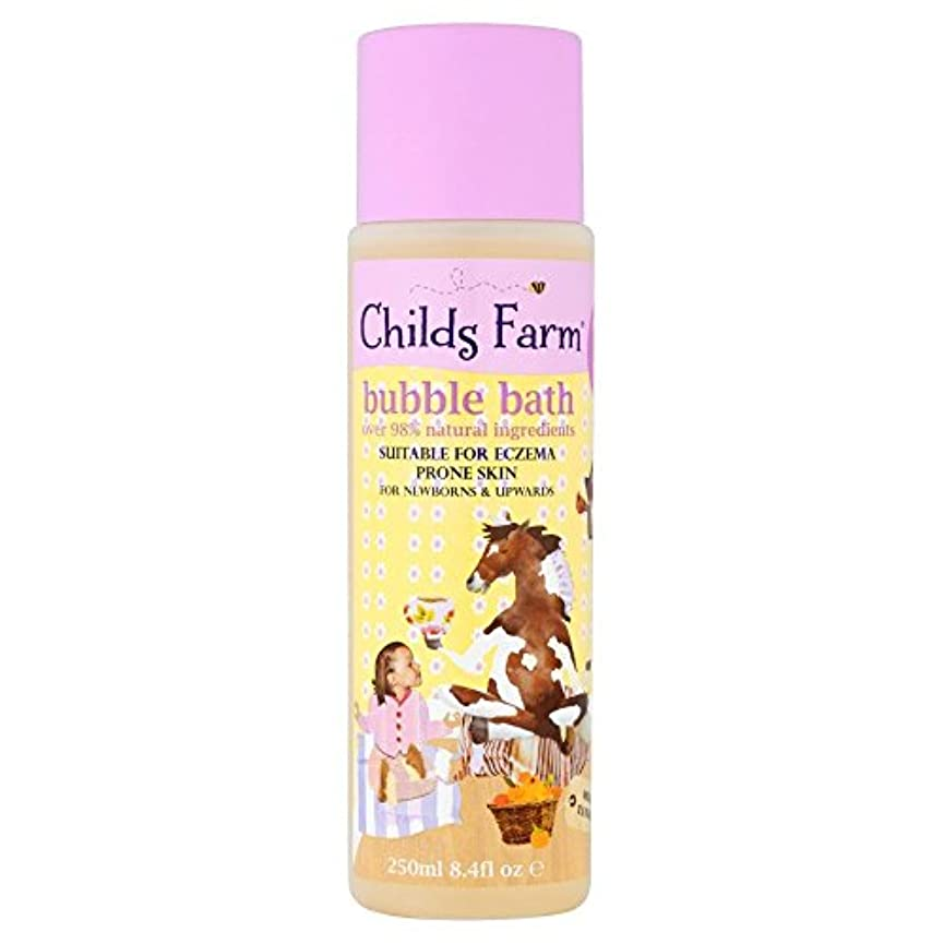キリンスポンサー運河Childs Farm Clean Calm & Collected Organic Tangerine Bubble Bath for Sweet Dreams (250ml) 甘い夢のためのチャイルズファームクリーン...