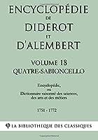 Quatre-Sabioncello (Encyclopédie De Diderot Et D'alembert)