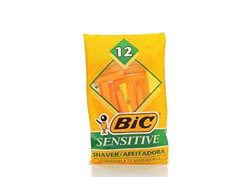 非アクティブ我慢するひねくれたBIC 機密性の高い単一のブレードシェーバー、36カウント 36数 敏感