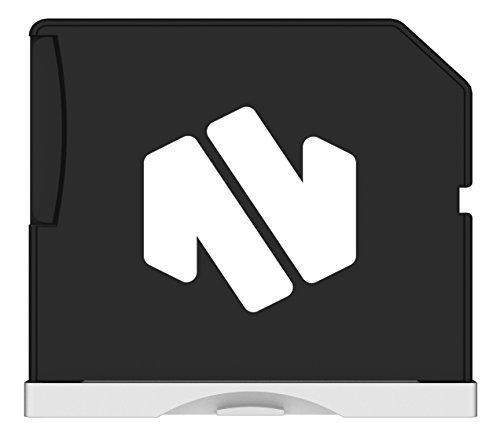 Nifty  MacBook Air 13インチ用  SDスロット対応 拡張メモリー 最大200GB対応 シルバー MiniDrive Air Silver MD5-RP-AIRSR0G