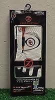 Friction Zero メンズ 右手 ユニバーサル ゴルフグローブ - オクラホマ ソナー - ホワイト