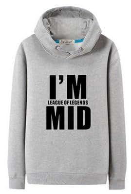 [League of Legends] パーカー トレーナー MID 秋冬 5サイズ 3カラー [CS-LOL-F0057]