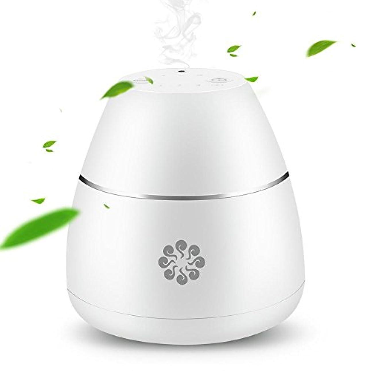 中止します味わう着るEjoyousアロマディフューザー 精油 ディフューザー 空気清浄機 冷たい霧化 アロマセラピー USB充電式 エッセンシャルオイル 芳香器 タイマー付き