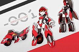 BIG Firebird 魔X姫変形 シリーズ 01 Red Motor XX-01 レッドモーター 疾速紅音