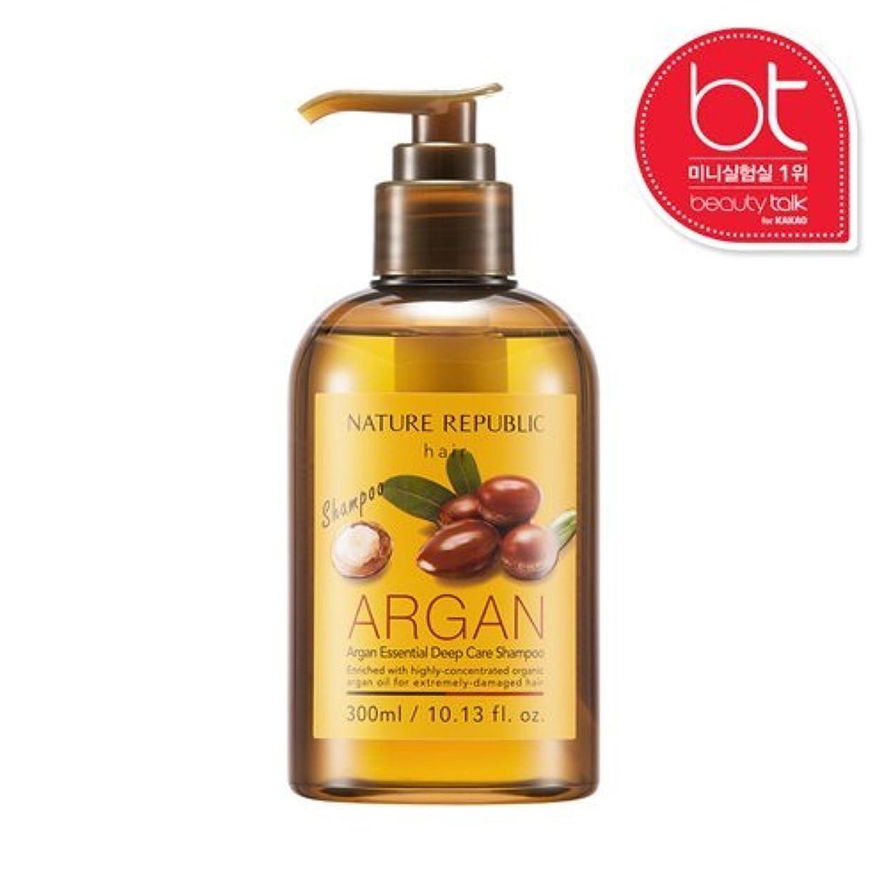 喉頭削減動物(NATURE REPUBLIC ネイチャーリパブリック) ARGAN Essential Deep Care Shampoo アルガン エッセンシャル ディープ ケア シャンプー