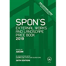 Spon's External Works and Landscape Price Book 2019 (Spon's Price Books)
