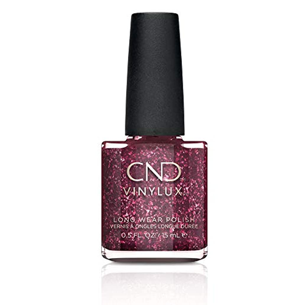 エチケット囲む誠実さCND Vinylux Nail Polish - Poison Plum - 0.5oz / 15ml