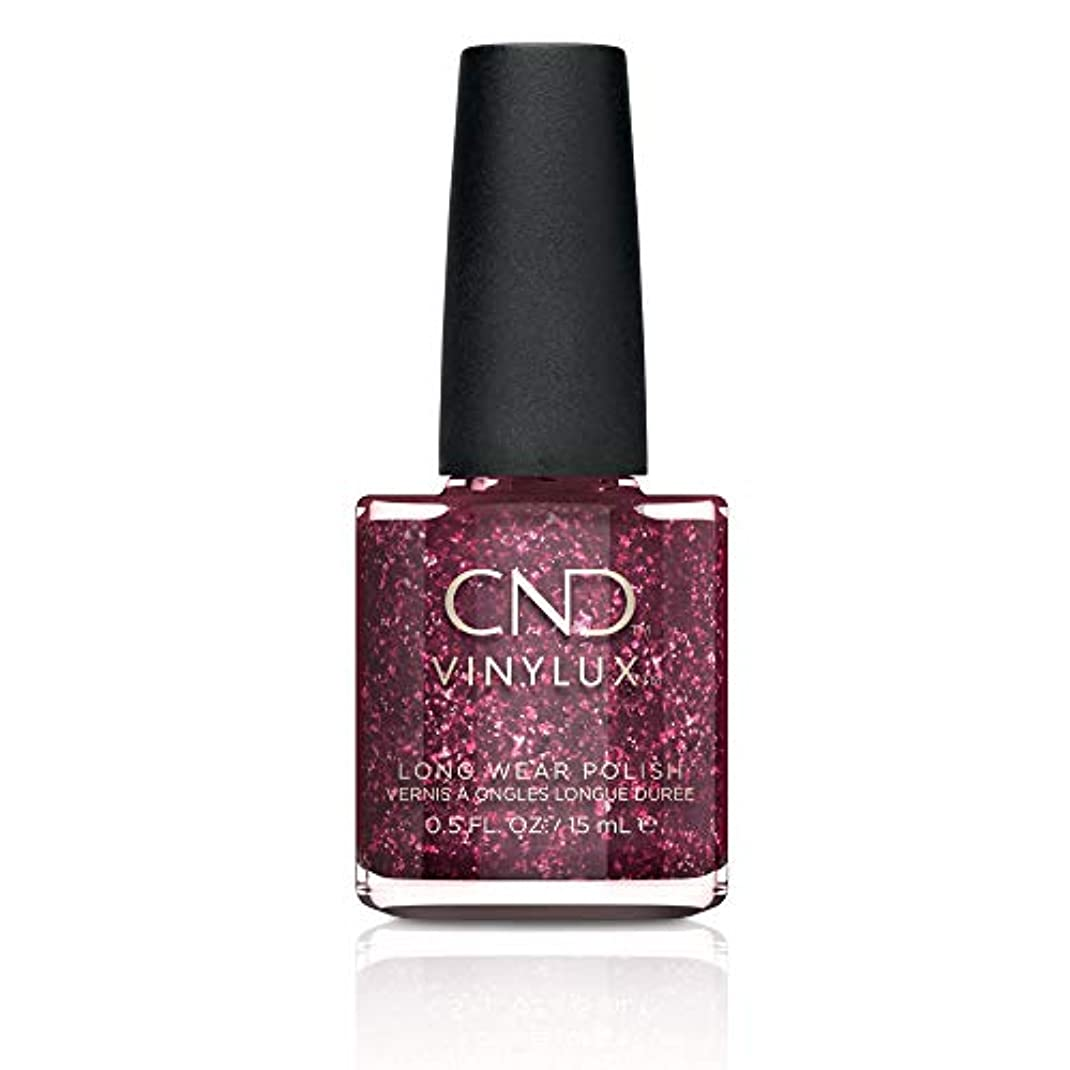 朝高度なマーキーCND Vinylux Nail Polish - Poison Plum - 0.5oz / 15ml