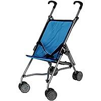 [ドールストローラーズプロ]Doll Strollers Pro Umbrella Blue Doll Stroller Blue with Swiveling Front Wheels LYSB00THOFX4I-TOYS [並行輸入品]