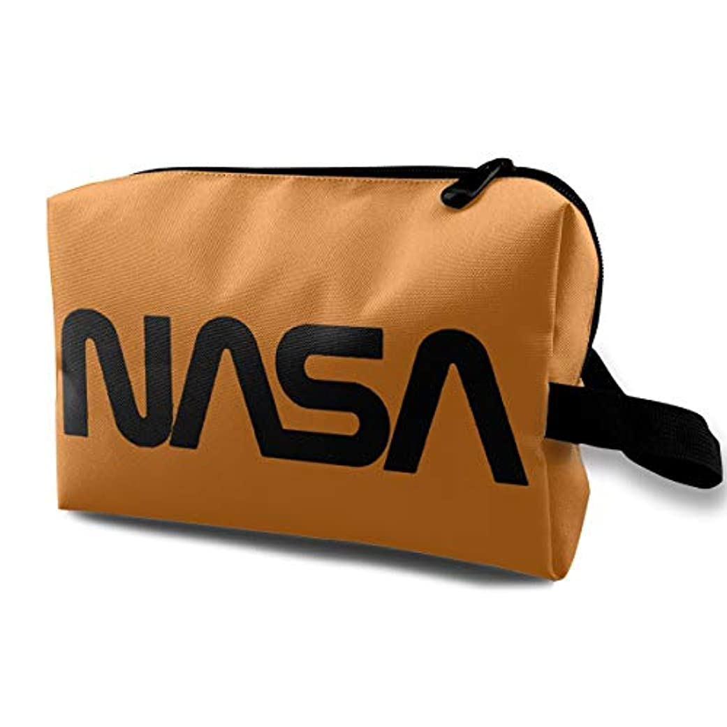落花生ミリメーターただやるDSB 化粧ポーチ コンパクト メイクポーチ 化粧バッグ NASA 航空 宇宙 化粧品 収納バッグ コスメポーチ メイクブラシバッグ 旅行用 大容量