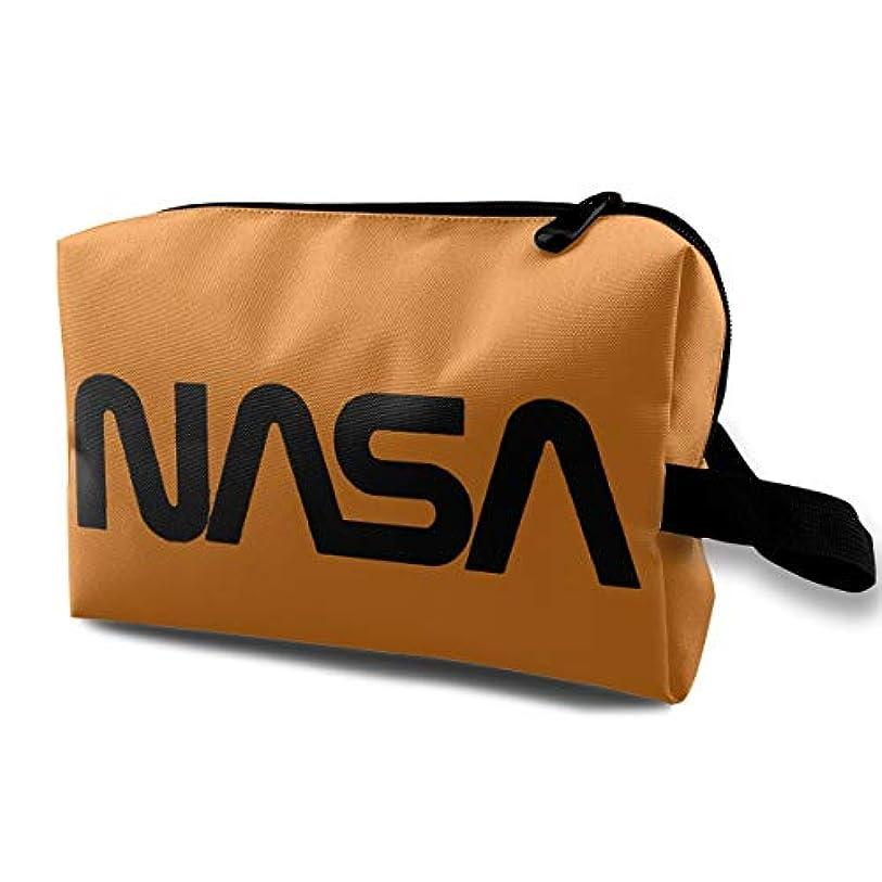セラフメドレーピッチDSB 化粧ポーチ コンパクト メイクポーチ 化粧バッグ NASA 航空 宇宙 化粧品 収納バッグ コスメポーチ メイクブラシバッグ 旅行用 大容量