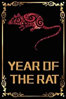 Year of the Rat Chinese New Year Journal (Black Cover)