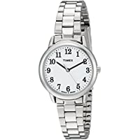 Timex Women's Easy Reader Stainless Steel Bracelet Watch