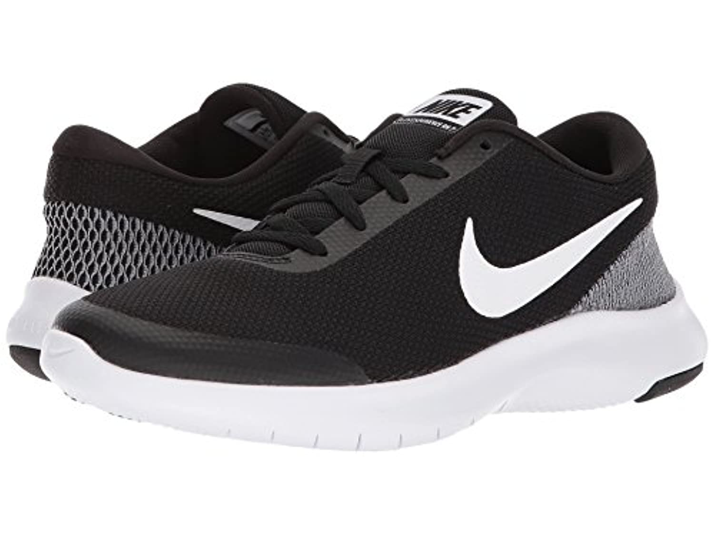[NIKE(ナイキ)] レディーステニスシューズ?スニーカー?靴 Flex Experience RN 7 Black/White/White 6.5 (23.5cm) B - Medium