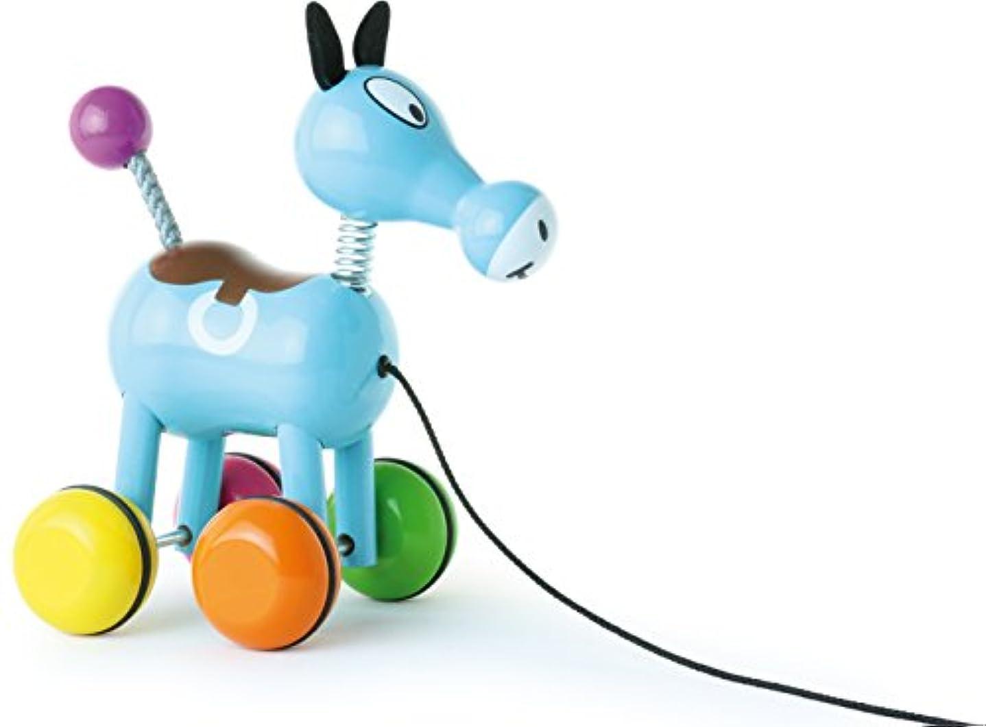 バーゲン決定的キッチンVilac Push and Pull Baby Toy, Roudoudou The Horse by Vilac