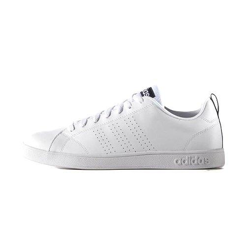 adidas(アディダス) スニーカー NEO ネオ VALCLEAN2 バルクリーン ローカット カジュアル シューズ 靴 メンズ レディース F99252-ホワイト/ネイビー 26.0cm valclean2-260F99252