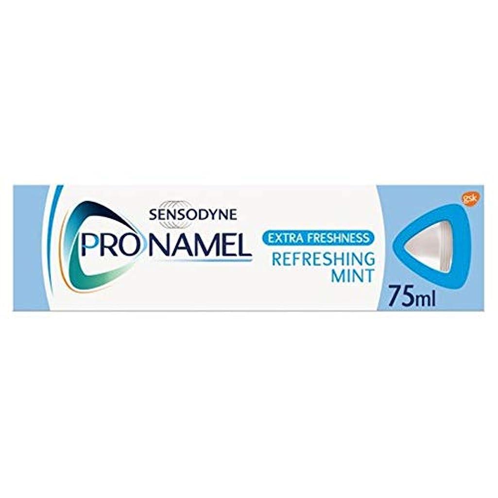 行く軍艦会話[Sensodyne] SensodyneのPronamel余分な新鮮な敏感歯磨き粉75ミリリットル - Sensodyne Pronamel Extra Fresh Sensitive Toothpaste 75Ml...