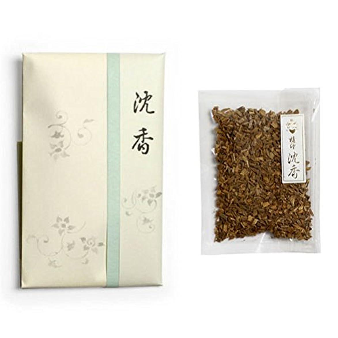 フレア吸収する淡い香木 竹印 沈香 刻(きざみ) 5g詰 松栄堂