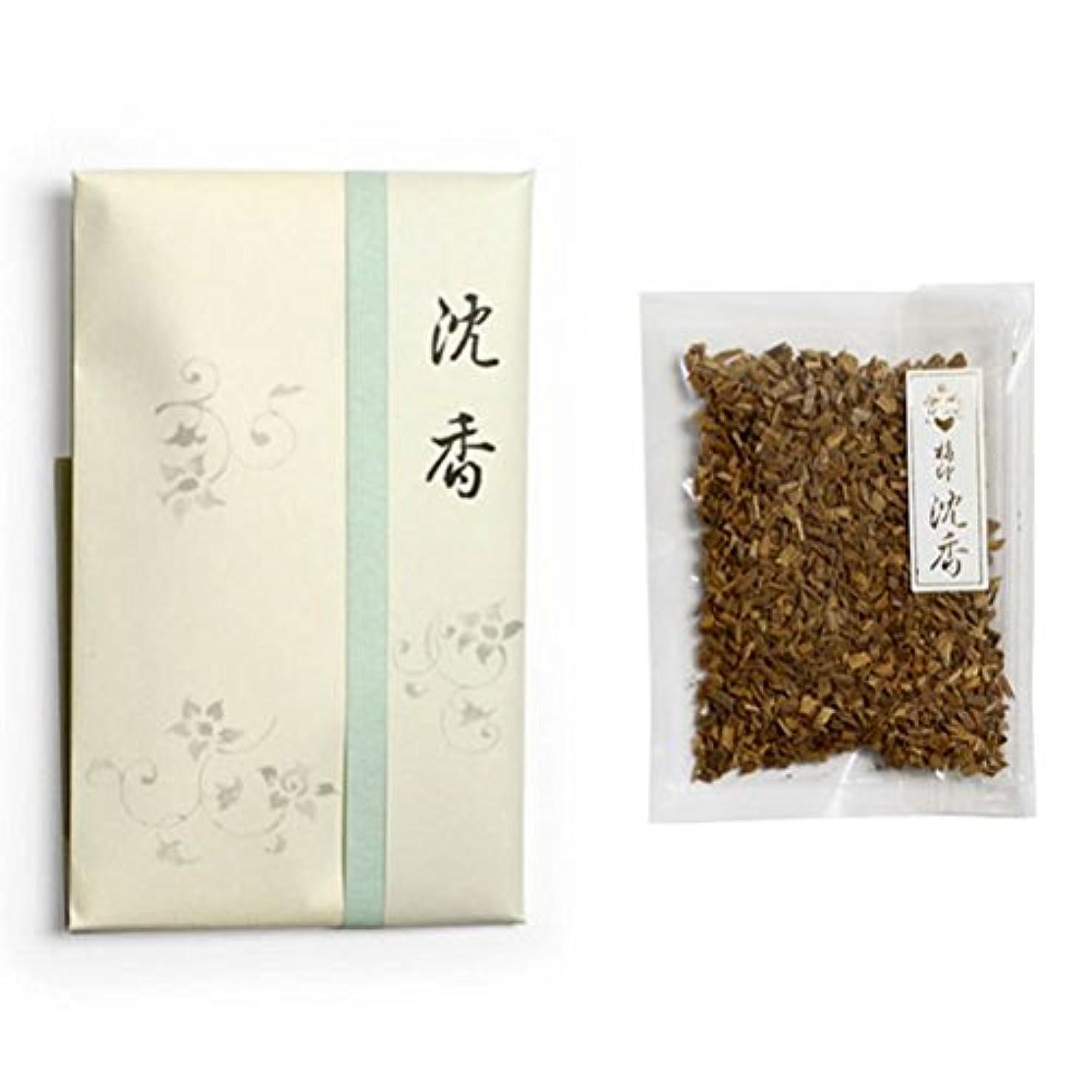 壊滅的なボリューム喉頭香木 竹印 沈香 刻(きざみ) 5g詰 松栄堂