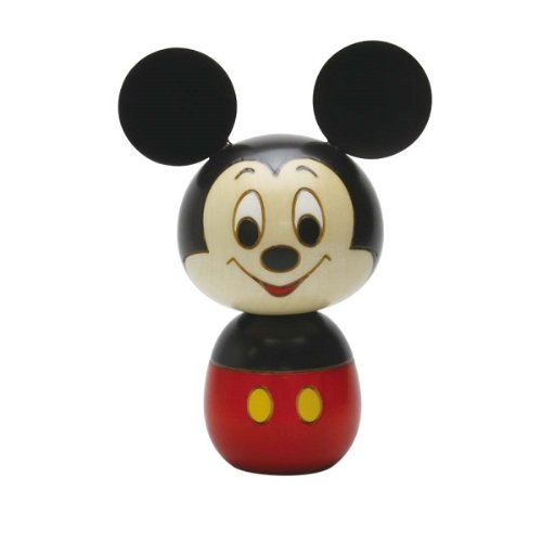 【即納!】【創作 卯三郎こけし】 ディズニー 手作りこけし ミッキーマウス (MMK-8119) Disney 【KRS】【】