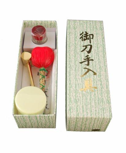 日本刀-模造刀 手入れ道具(目釘抜き入り) [おもちゃ&ホビー]