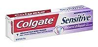 Colgate ホワイトニング、6オンス(18パック)で敏感防止&修理歯磨き粉