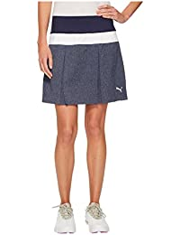 [PUMA(プーマ)] レディースセータージャンプスーツ PWRSHAPE Pleated Skirt Peacoat L