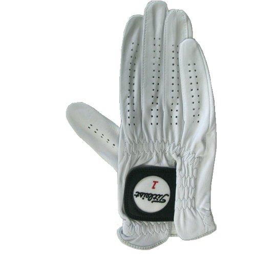 TITLEIST(タイトリスト) プロフェッショナル グローブ 右手用 ホワイト 24cm TG77-WT-LH ホワイト 24cm