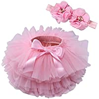 Aline Skirts for Women Children's Skirts, Girls Skirts, Baby PP Pants, Infant mesh Skirts, Suitable for Children Aged 0-3 (Size : XL (2-3 Years Old))